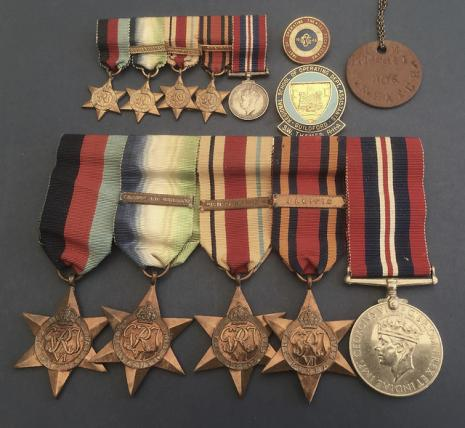 World War Two Medal Group