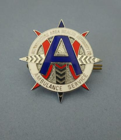 Oxfordshire Area Health Authority Ambulance Service,Cap badge
