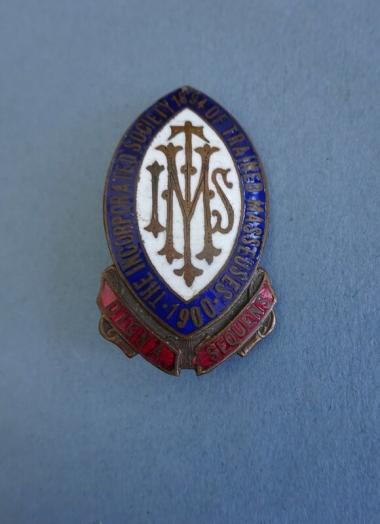 The Incorporated Society of Trained Masseuses,Early Physiotherapy Badge