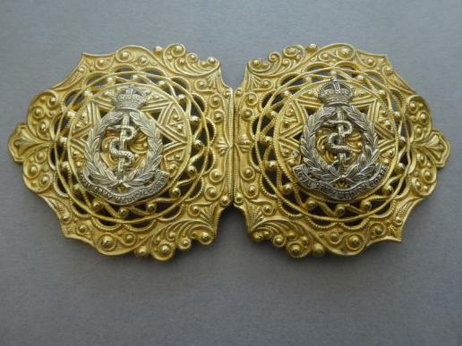 Royal Army Medical Corps, Nurses/Sweetheart belt buckle