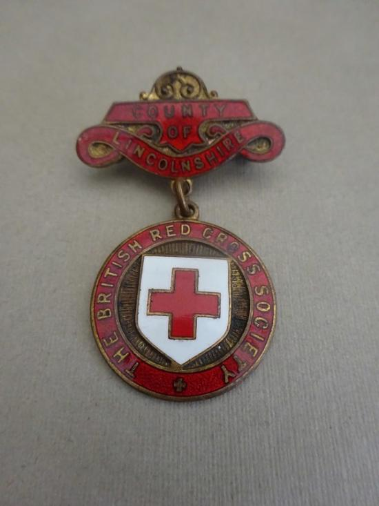 British Red Cross Society County Badge,Lincolnshire
