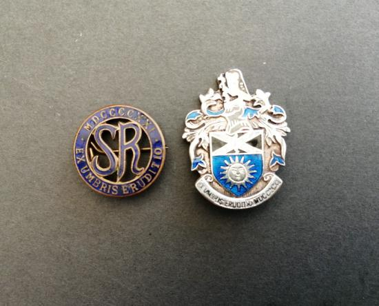 Society of Radiographers,two members badges including silver.